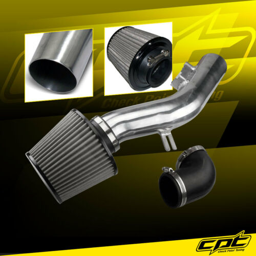 Stainless Filter 08-10 Pontiac G6 2.4L Without Air Pump Polish Cold Air Intake