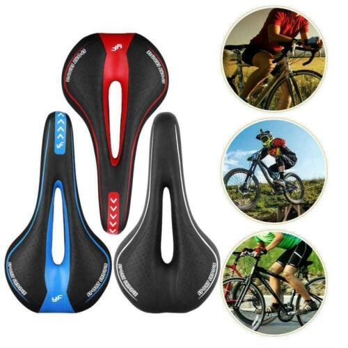Bicycle Bike Cycle Saddle Road Mountain Sports Soft Pad Gel Seat Cushion E4V0