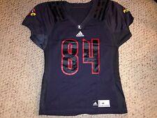 2015 Adidas Louisville Cardinals #84 Gio Pascascio Football Practice Jersey