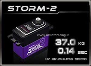 HD-STORM 2 Power Hd Storm-2 Servo Digitale 37.0kg Brushless ingranaggi in titani - Italia - HD-STORM 2 Power Hd Storm-2 Servo Digitale 37.0kg Brushless ingranaggi in titani - Italia