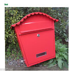 New Home Wall Mounted Protective Roof Letterbox Mailbox Mail Letter Paper Box