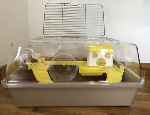 Large-Hamster-Cage-House-With-Toys-Wheel-50cm-For-Pet-Hamster-Rodents-Mouse