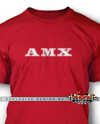 AMC AMX 1971-1974 Emblem  Coupe Long Sleeves T-Shirt  Multiple Colors /& Sizes