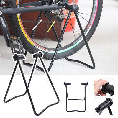 Bicicletta Stand Regolabile in Altezza Bagagli Biciclette Portabici Mozzo Ruota Display Stand Area Magazzino Portabiciclette Riparazione Basamento Di Scossa 1pc Nero