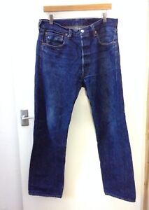 0e62de4c989 Levi's 501 Jeans Big E Redline Dark Size 34 X 32 Made In USA | eBay