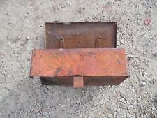 International 300 Ih Utility Tractor Ih Original Tool Box With Welded Door Latches