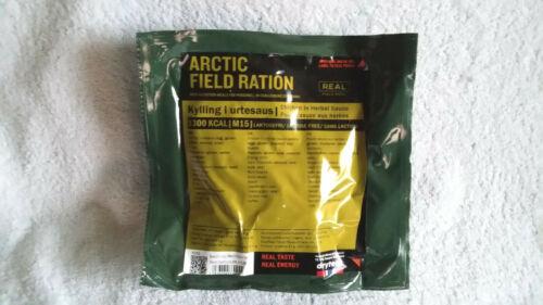 Arctic Field Combat Ration Pêche. Camping Randonnée Menu 15 Norwegian Mre