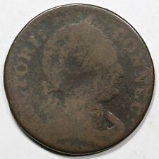 1786 M 3-D.1 R-5+ Scholar's Head Connecticut Colonial Copper Coin