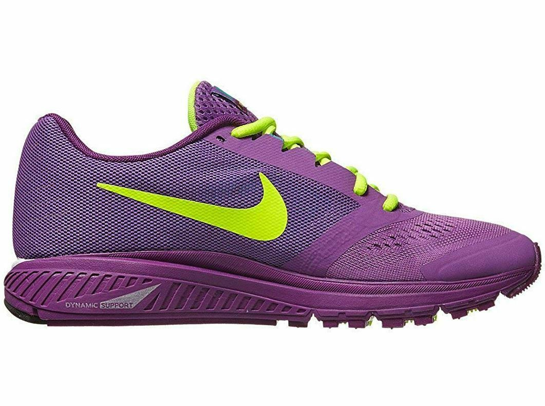 Nike Air Zoom Structure+ 17 Damen Stabil Laufschuhe EU38,5 US7.5 Lila 615588 535