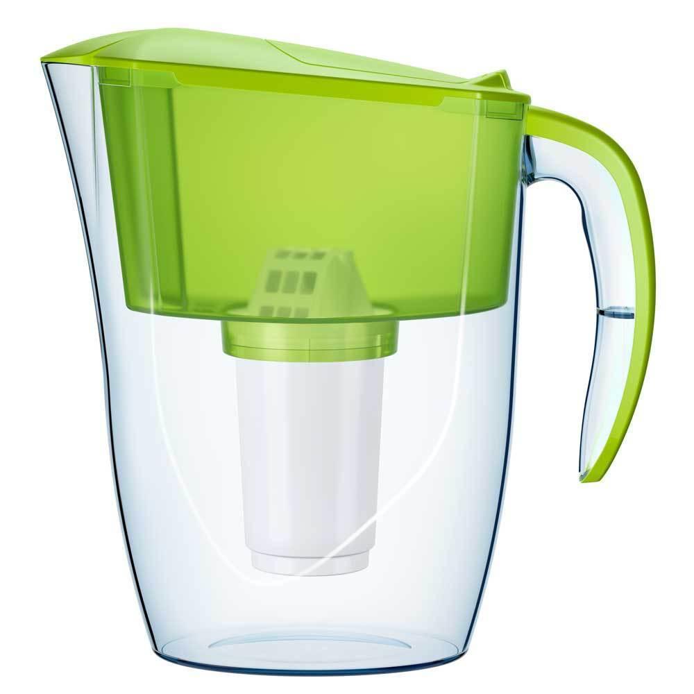 Sourire Filtre à eau pichet carafe 2.6 L A5 Remplacement bactériostatique Cartouche