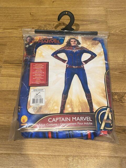 Captain Marvel Womens Adult Superhero Costume Suit Size Large 10 14 For Sale Online Ebay We offers captain marvel costumes products. ebay
