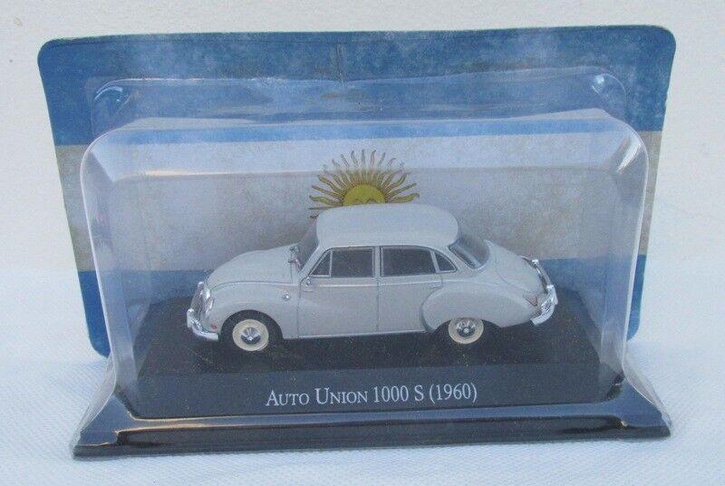 DKW Auto Unión detallada detallada detallada 100s 1960, 1 43 coches, plataina, Salvat Inolvidable cda452