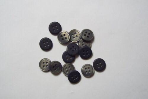 10pc 9mm école gris cardigan pantalon chemise kid baby bouton 0616