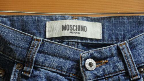Good État À 85 Jeans L34 W34 Très Bon Homme Moschino Very Coniditio In qwOOUSngR