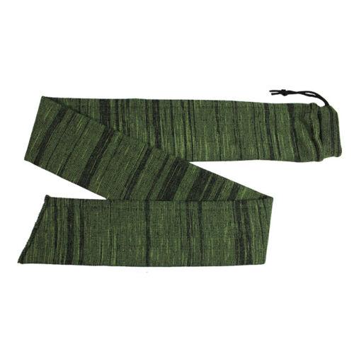 Silicone Treated Gun Sock 140×10cm Rifle Shotgun Shooting Oil Air Bag Slip Cover