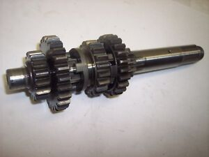 69-73-Yamaha-AT3-AT1-CT1-CT3-125-Transmission-Lecteur-Vitesses-Mainshaft-Manche