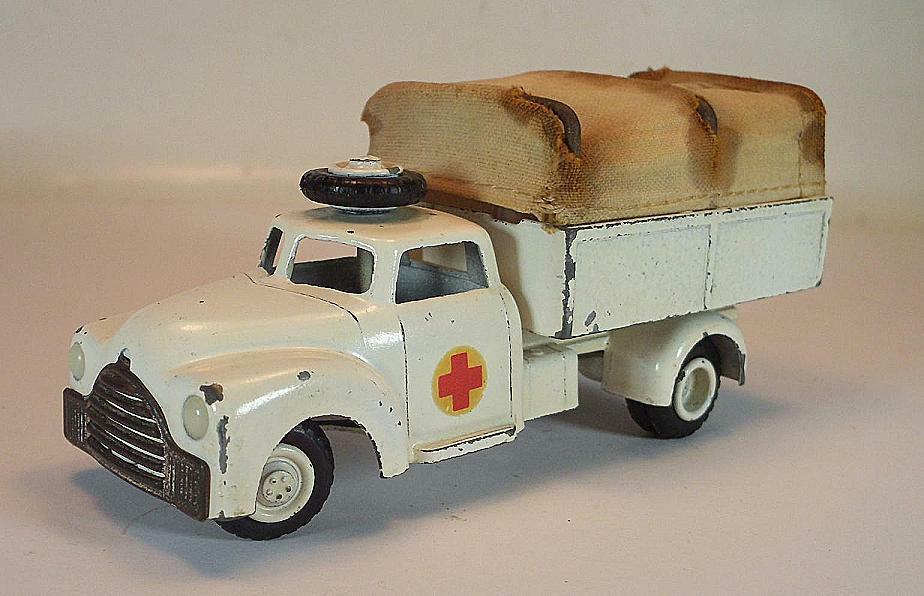 Vilmer Denmark Nr. 465 Dodge Covered Wagon Red Cross Cross Cross Ambulance c86aae