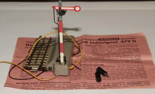 Märklin H0 443G  Flügelsignal  el.Schaltung autom.Zugbeeinflussung,11 cm in OVP