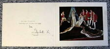 Elizabeth, Queen Mother - 1954 - HAND Signed Christmas Card