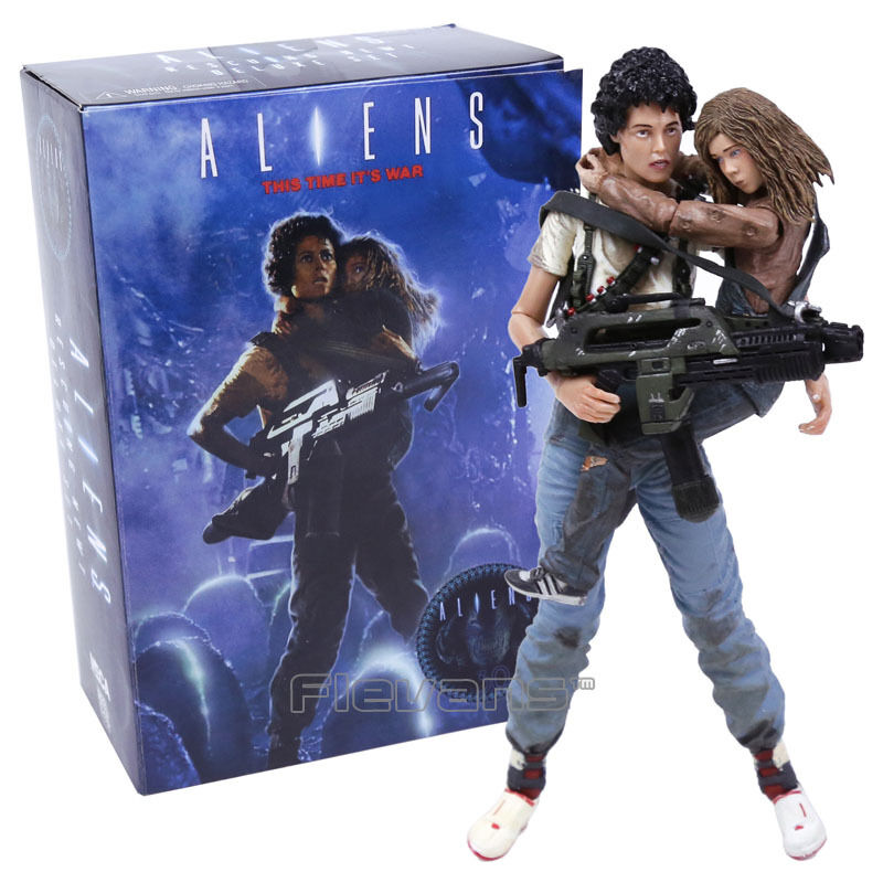 Aliens - es ist krieg - figura ellen ripley & newt abbildung 18cm