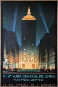 New-York-Central-Building-Vintage-Travel-Art-Print-Mural-Poster-36x54-inch