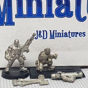 WARHAMMER 40K - GW Citadel Metal Imperial Guard Rogue Trader Sentinels x2 (1989)   eBay