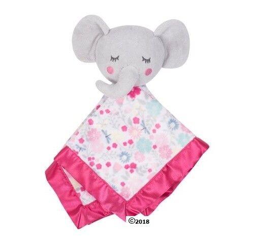 Parent/'s Choice Baby Girl Pink Elephant Blanket Buddy