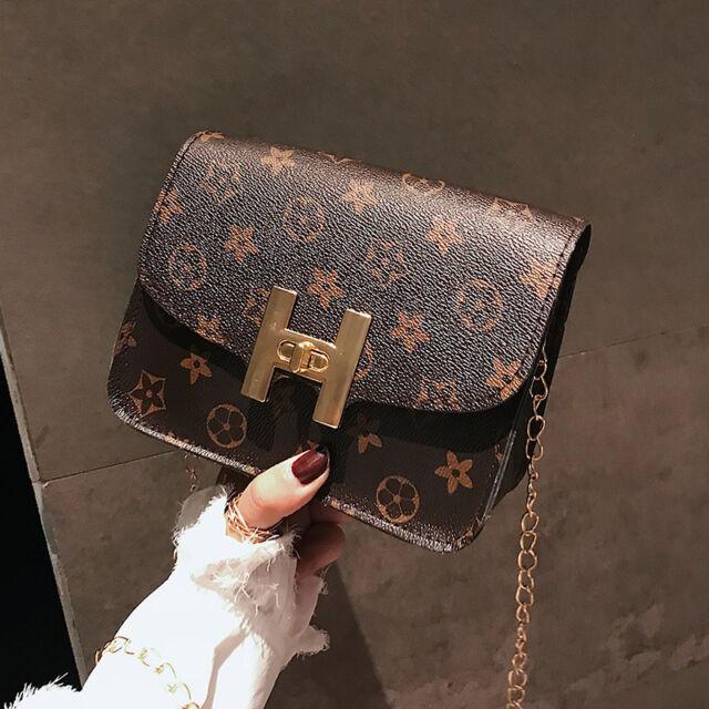Womens Ladies Leather Satchel Cross Body Tote Bag Messenger Handbag Shoulder Bag