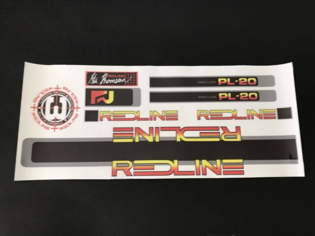 Redline Proline 11 Decals Sticker Set Era Correct Suit Your Old School BMX