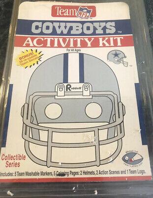 Dallas Cowboys Coloring Activity Set With 5 Washable Team Logo Markets Ebay
