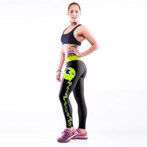 Womens Sports Yoga Leggings Running Gym Fitness Pants Athletic Stretch Trousers