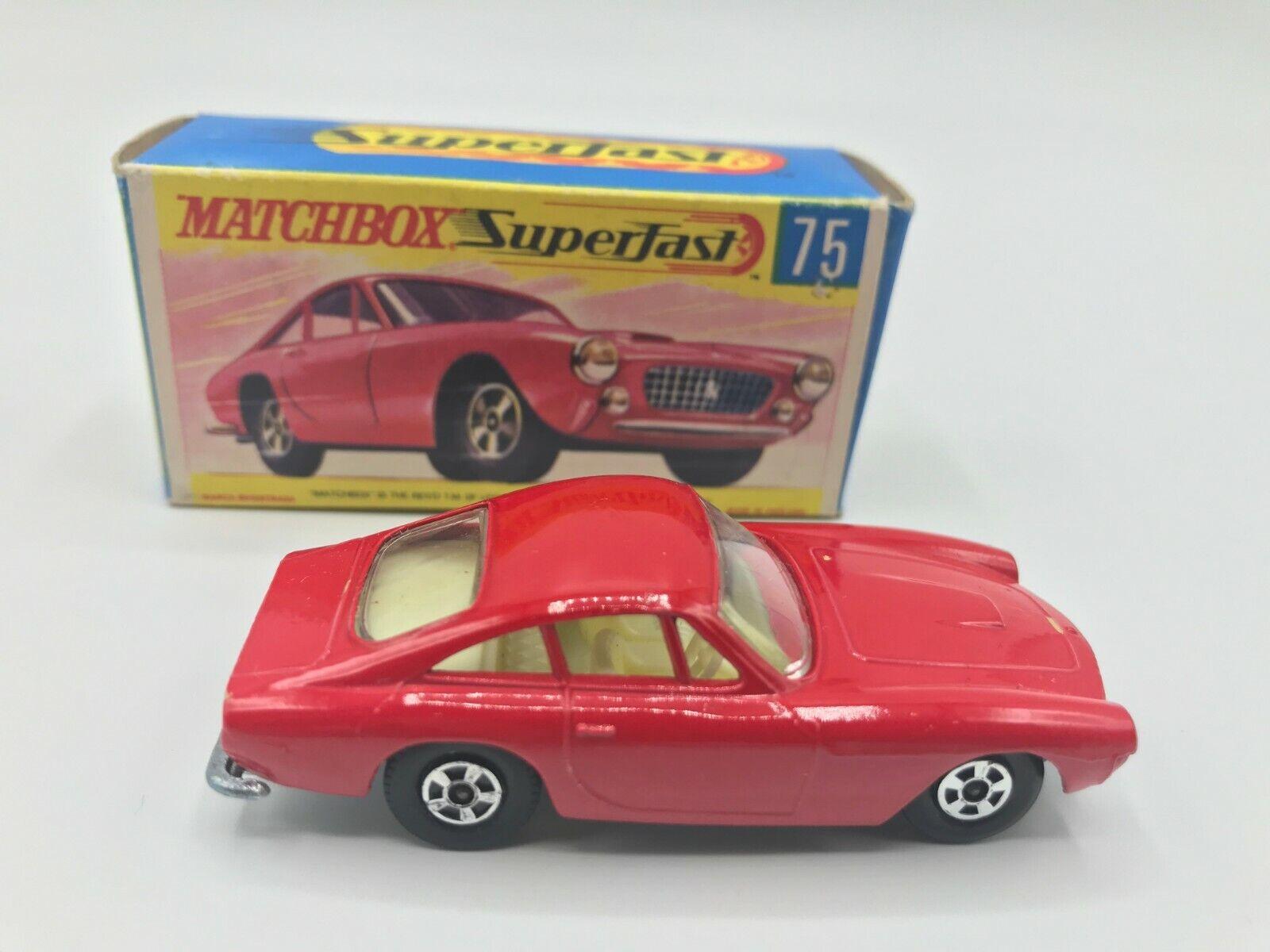 Matchbox Superfast Ferarri Berlinetta    75 New Old Stock In Original G2 Box 117
