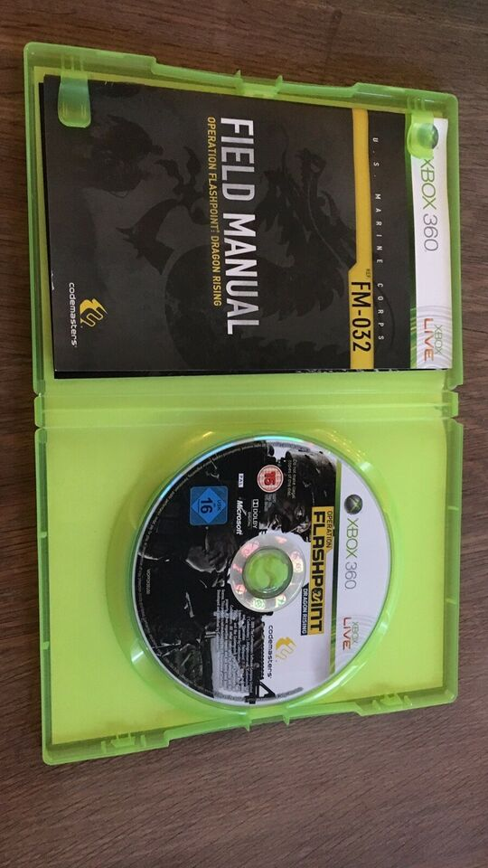 Operation flashpoint , dragon rising, Xbox 360