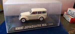 IXO-1-43-RENAULT-JUVAQUATRE-BREAK-1949-NEUF-EN-BOITE