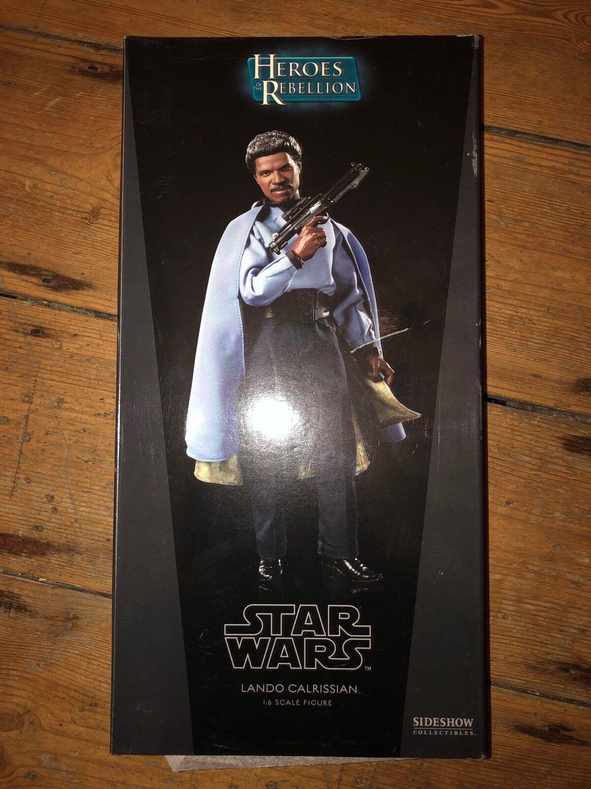 servicio honesto Sideshow Sideshow Sideshow Estrella Wars Héroes de la rebelión Lando Calrissian afssc 514  marca en liquidación de venta