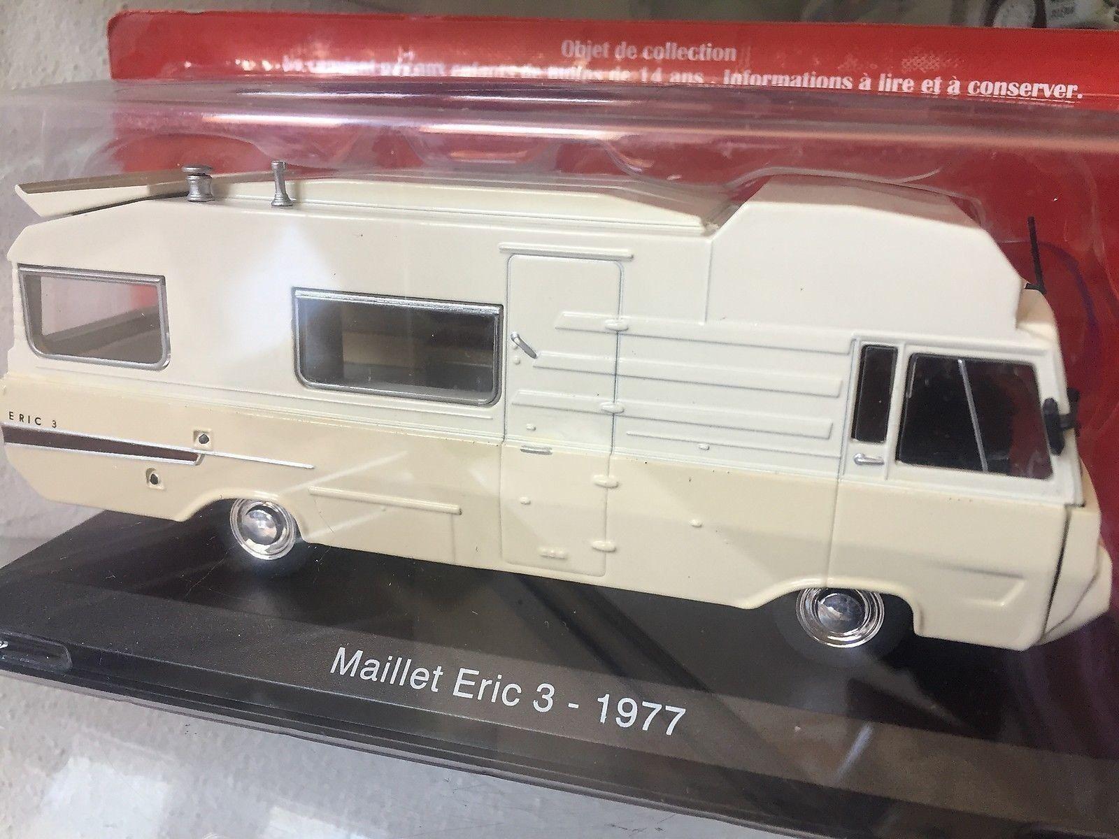 413 Camper Peugeot Maillet Eric 3 1977 - DIE CAST 1 43