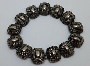 Vintage-Silver-Tone-Bracelet
