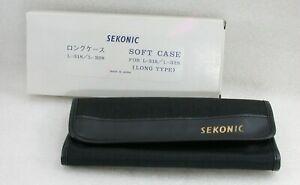 Unused-SEKONIC-Soft-Case-For-L-318-L-328-Long-Type-Box