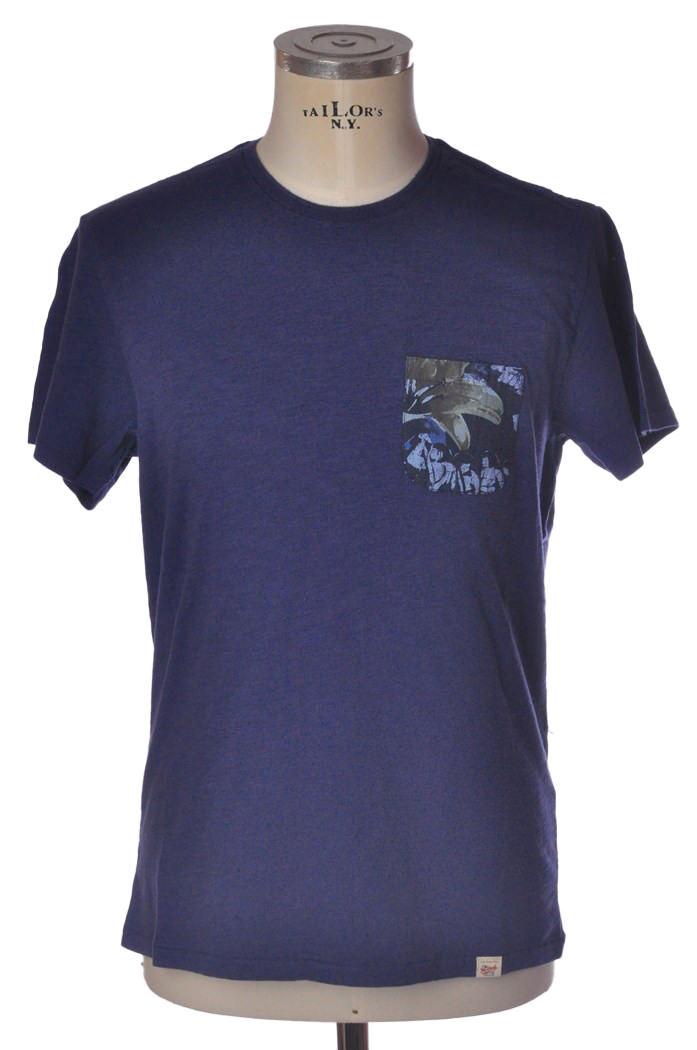 Woolrich - Topwear-T-shirts - man - bluee - 812418C183733