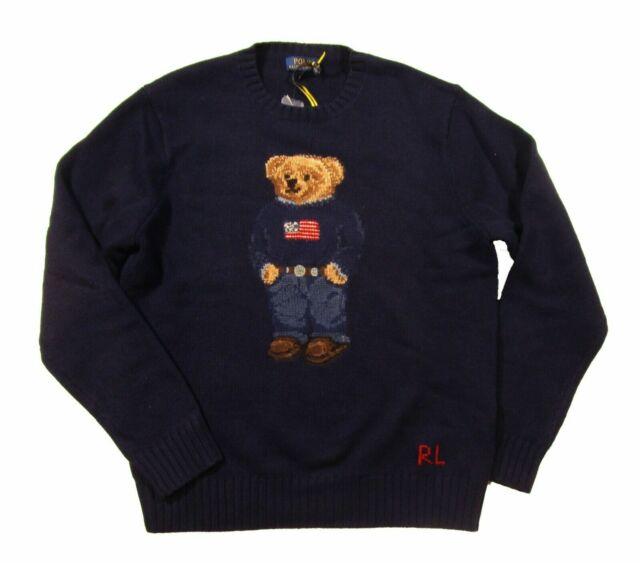 Polo Ralph Lauren Iconic Wool Bear Sweater  NEW $395
