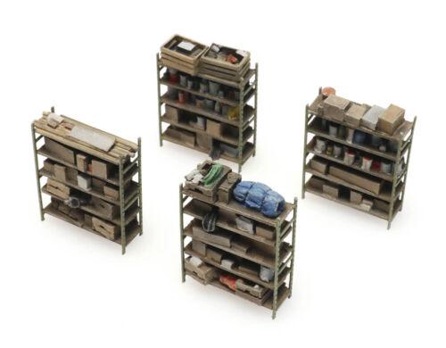 modello finito 4-magazzino scaffali Artitec 387.434-1:87