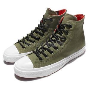 0f453f82ab25 Converse Chuck Taylor All Star II Shield Canvas Green Black Mens ...