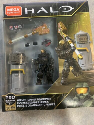 Mega Construx Pro Halo Hermes Hammer Power Pack 30pcs New GLB65 Microsoft Lego