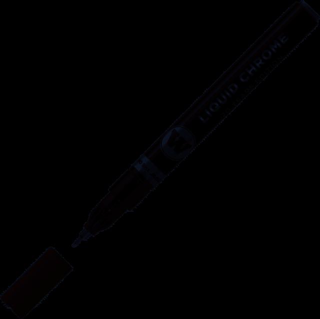 Molotow Chrome - Pennarello lnchiostro cromato speciale effetto specchio