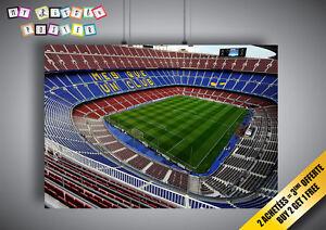 Details About Poster Camp Nou Stadium Football Fc Barcelona Wall Art 02