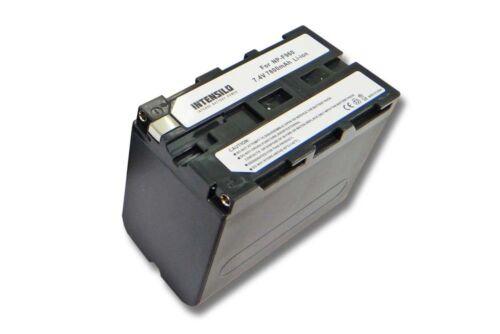 ORIGINAL INTENSILO AKKU 7800mAh für SONY NP-F750 NP-F750SP NP-F930 NP-F950