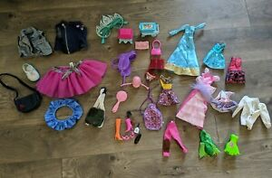 Lot of Random Barbie & American Girl Doll Clothes and Accessories