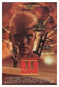Red Scorpion (1988) - DVD - Dolph Lundgren, M