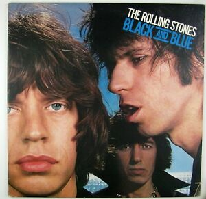 ROLLING STONES Black And Blue LP 1976 ROCK NM- NM-