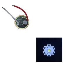 1 Mode 3V-18V Flashlight Driver Circuit Board + 1pcs 20MM Cree XM-L2 U2 U3 LED